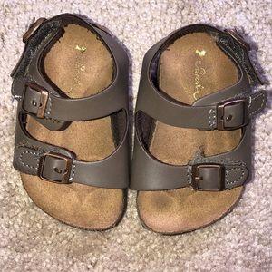 Babygirl sandals $8